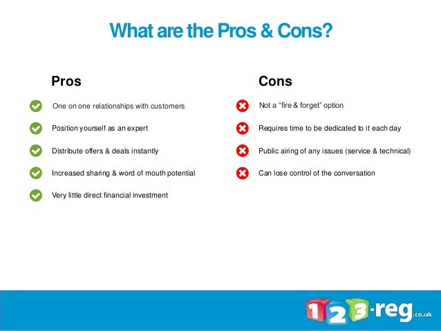Pros and cons of a relationship