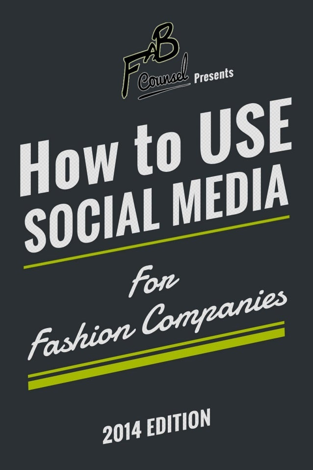 What is Social Media? Social media has completely changed the landscape of the fashion business. What was once an industry...