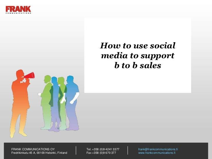 How to use social                                                       media to support                                  ...