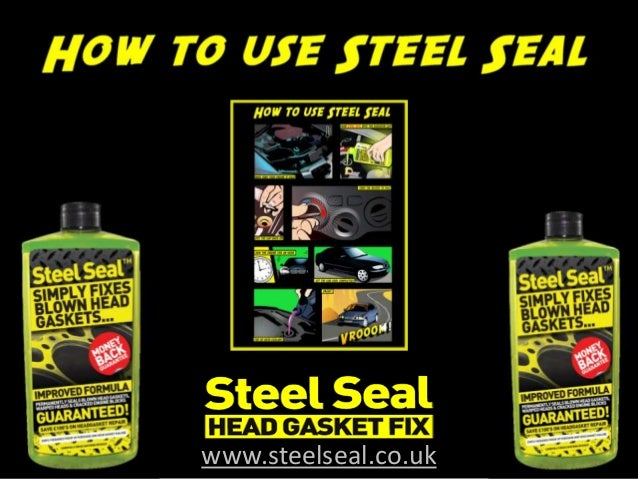 how to use steel seal head gasket repair. Black Bedroom Furniture Sets. Home Design Ideas