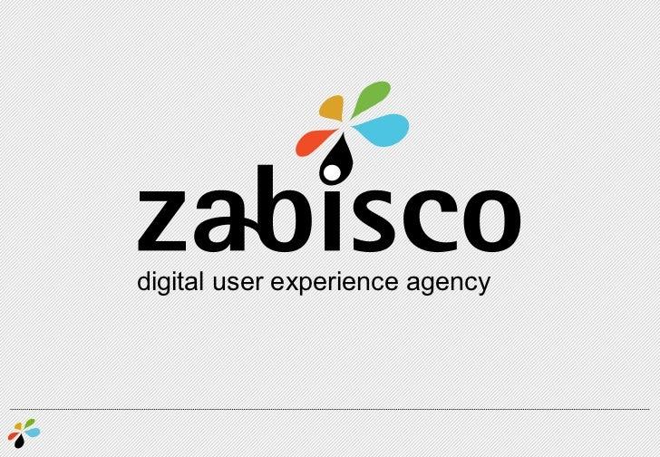 digital user experience agency<br />