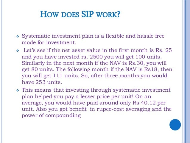 How to use systematic investment plan to accumulate wealth 3 how does sip solutioingenieria Images