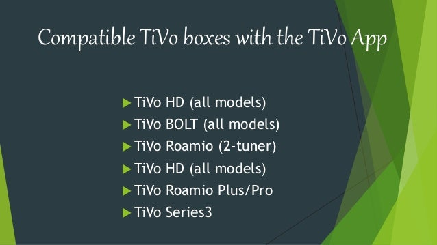 How To Use TiVo App For The iOS Devices? Call 1844-216-9915