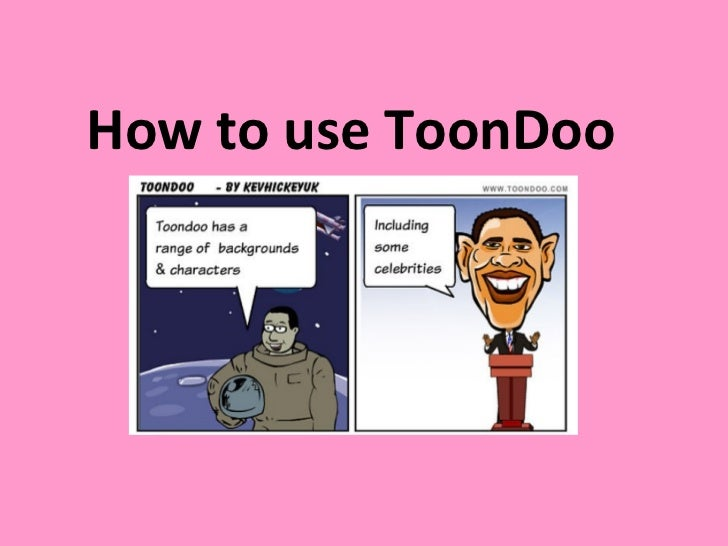 How to use ToonDoo