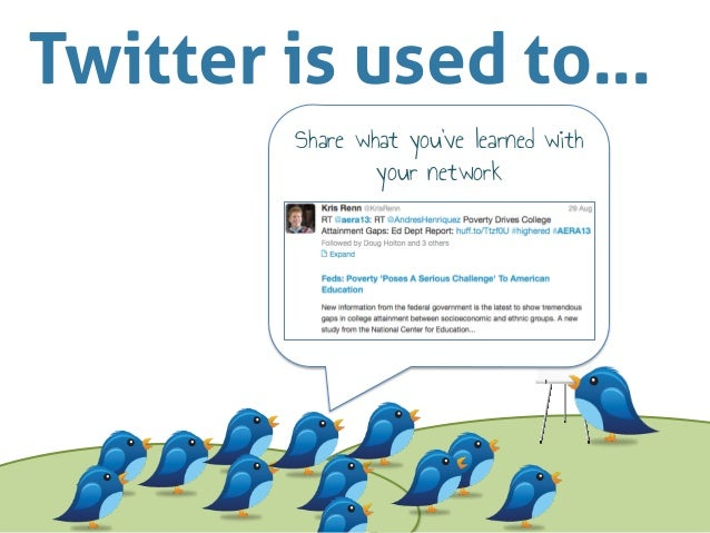 How to Use Twitter at Conferences Slide 2