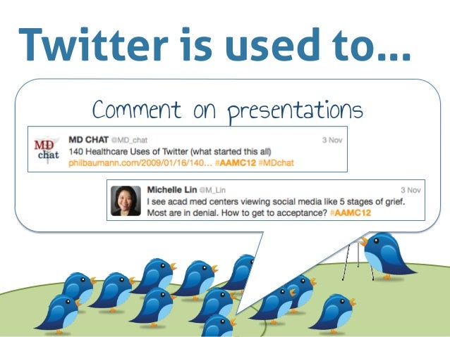 How to Use Twitter at Conferences Slide 3