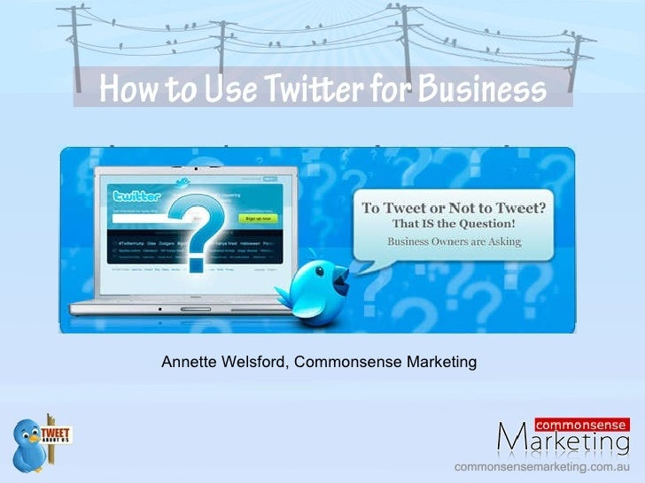 Annette Welsford, Commonsense Marketing