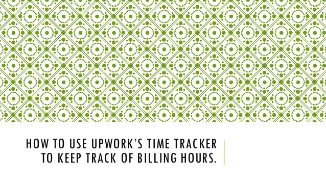 keep track of hours