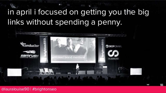 How To Use Your Competitors For Freeeee Links - BrightonSEO September 2018 Slide 3
