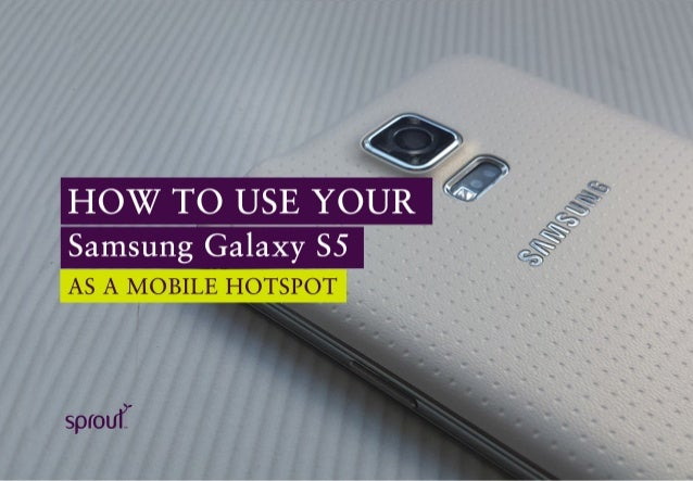 how to delete hotspot on samsung galaxy s5