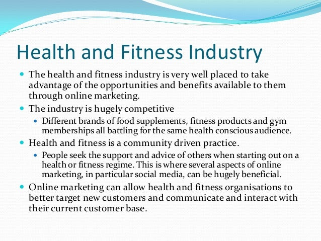 business in the health and fitness 2017-1-14  health and fitness services that are good in quality and low in cost 12 mission and vision:  sample business plan 13 usa health club industry.