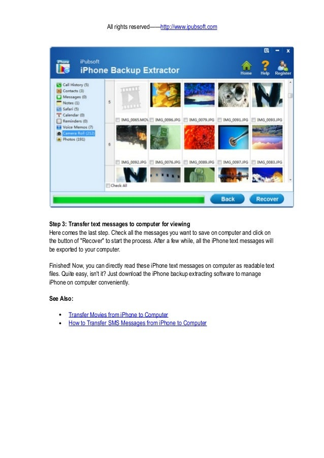 iphone messages on pc how to view iphone text messages on computer mac or pc 8792