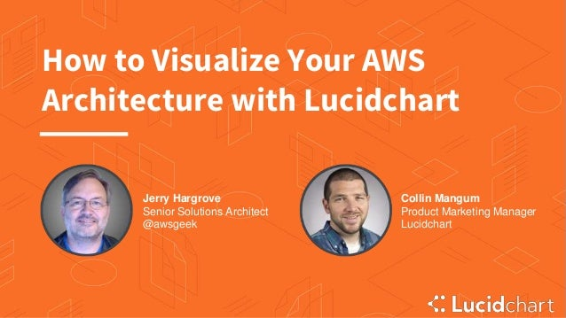 How to Visualize Your AWS Architecture with Lucidchart Jerry Hargrove Senior Solutions Architect @awsgeek Collin Mangum Pr...