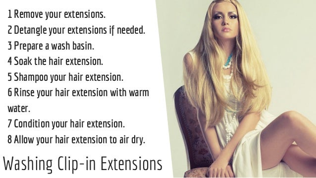 How to wash hair extensions how to wash hair extensions 2 pmusecretfo Image collections