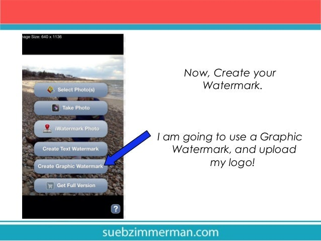 How to watermark your instagram photos 6 now create your watermark ccuart Image collections