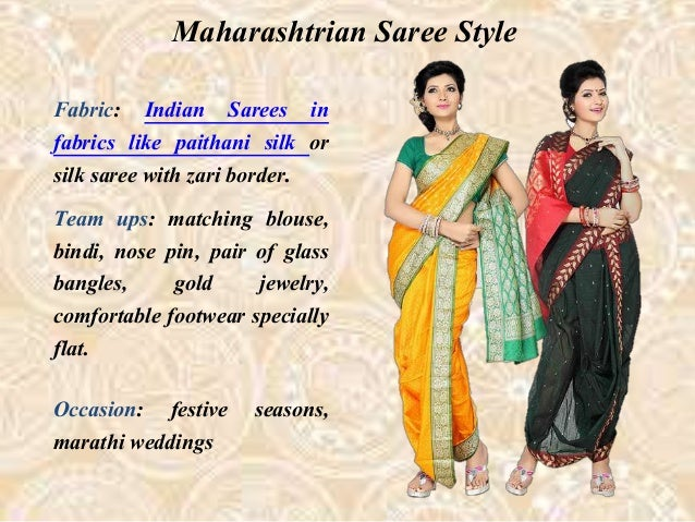 Indian Sarees In Different Style Statement