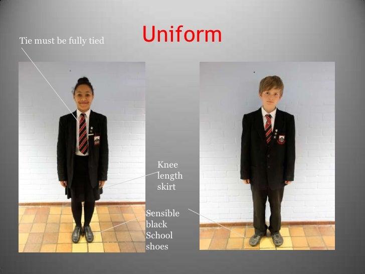 APS How to wear uniform September 2012 Ear Piercings Names
