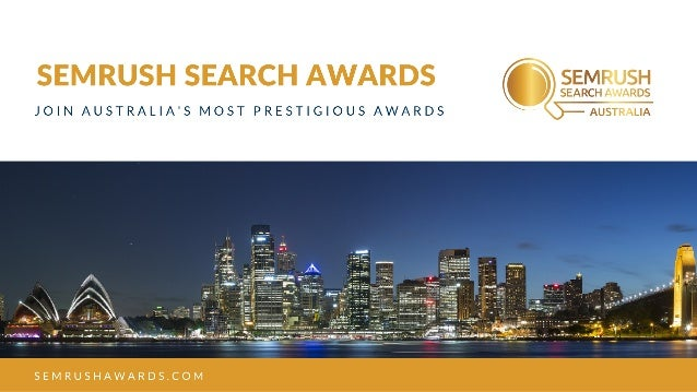 How to win a search award