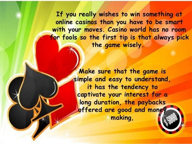 How to win at online casinos casino kursall interlaken