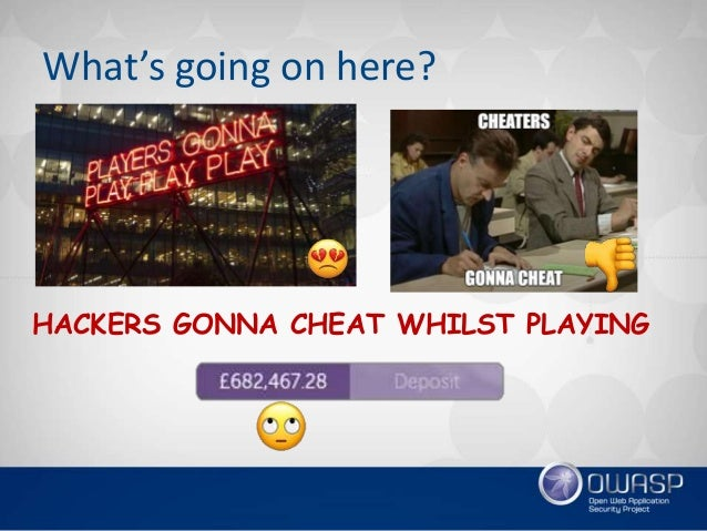 How to win big - Several Interesting Examples of Exploiting Financial & Gambling Apps Slide 3