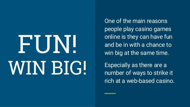 online casino games to win money