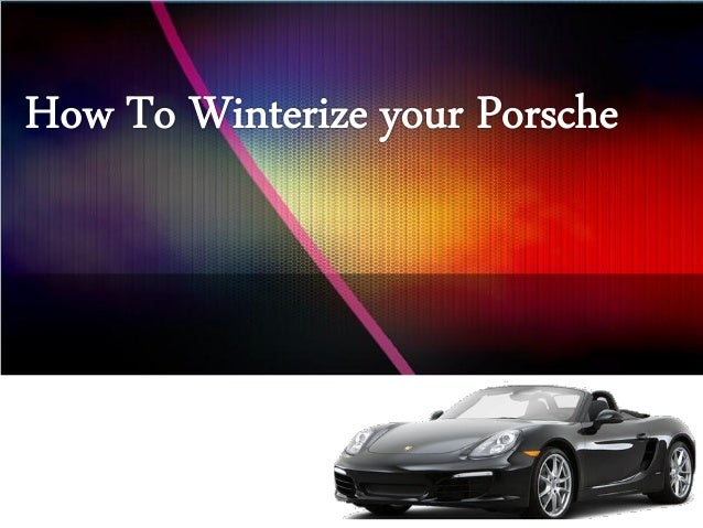 Make sure to have cars prepped and ready before the first snowfall.