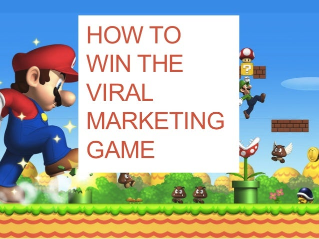 Ideas for Marketing Games