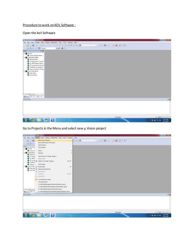 Learn keil software