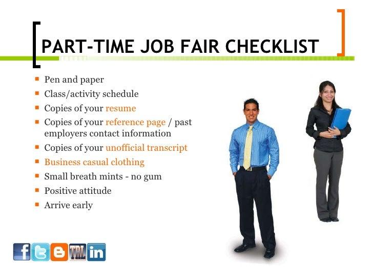 how to work a career fair