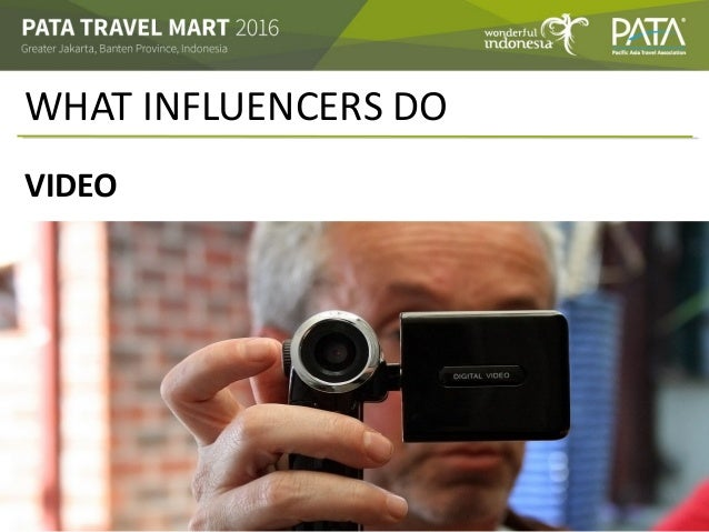 WHAT INFLUENCERS DO VIDEO