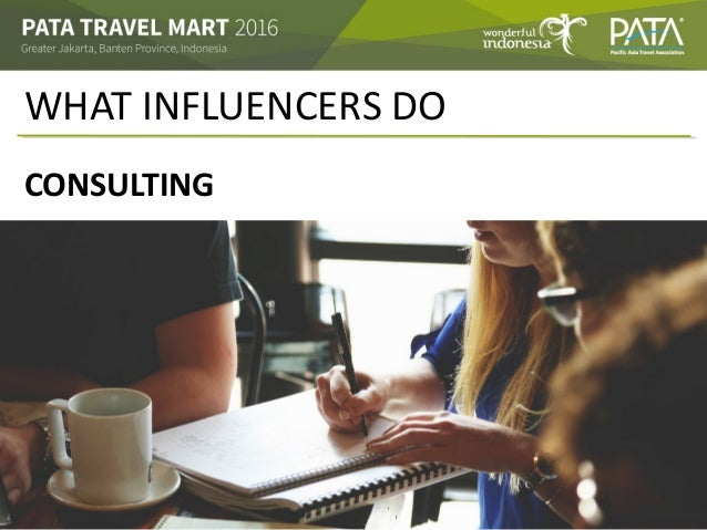 WHAT INFLUENCERS DO CONSULTING