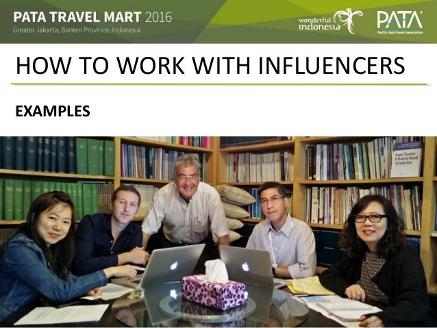 HOW TO WORK WITH INFLUENCERS EXAMPLES