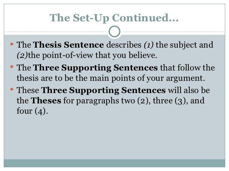 how to write a 5 paragraph essay
