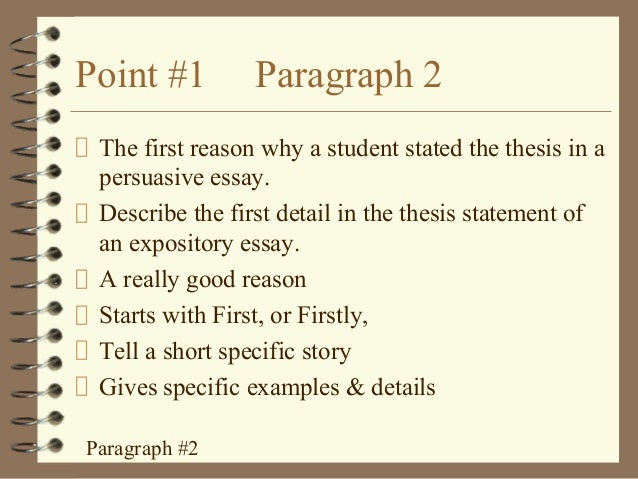 How to write a 5 paragraph essay 1