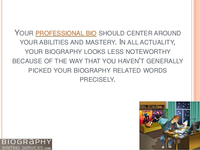 How to Write a Biography: Writing from the Heart Slide 2