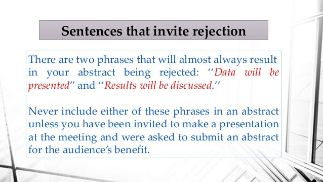how to make an abstract for a research paper