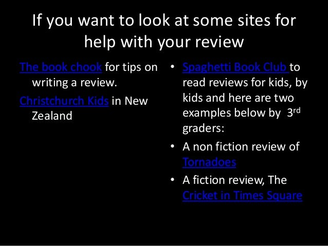 writing a book review for goodreads