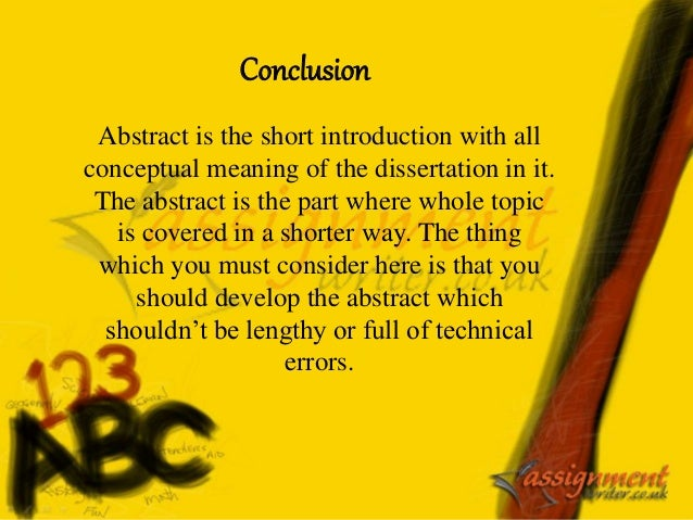where to put the abstract in a dissertation What do you think of when writing a dissertation abstract today, we will give you valuable clues on how to create a flawless abstract, in no time.