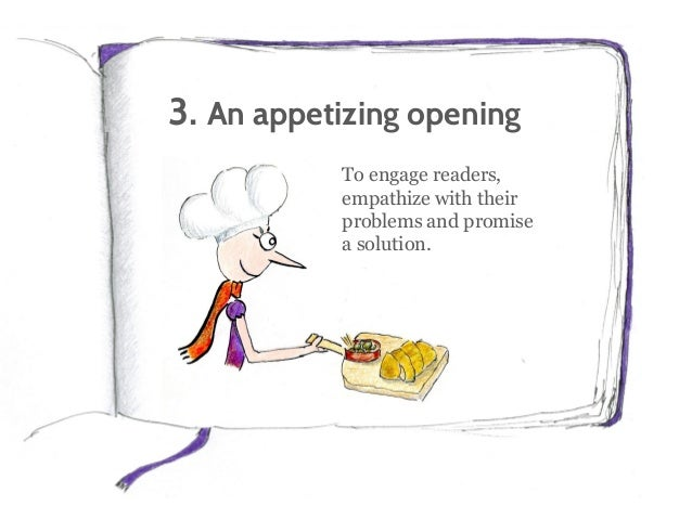 4. A sprinkling of questions Questions make your content conversational. And they encourage commenting.