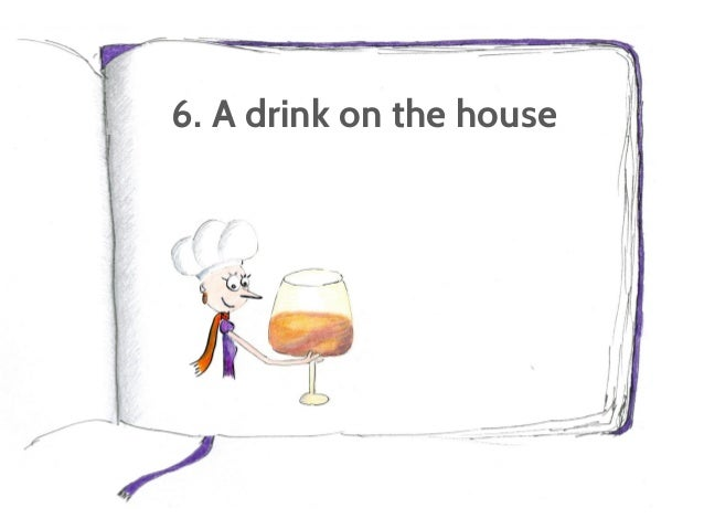 6. A drink on the house Get readers to download a free guide or sign up for a Webinar.