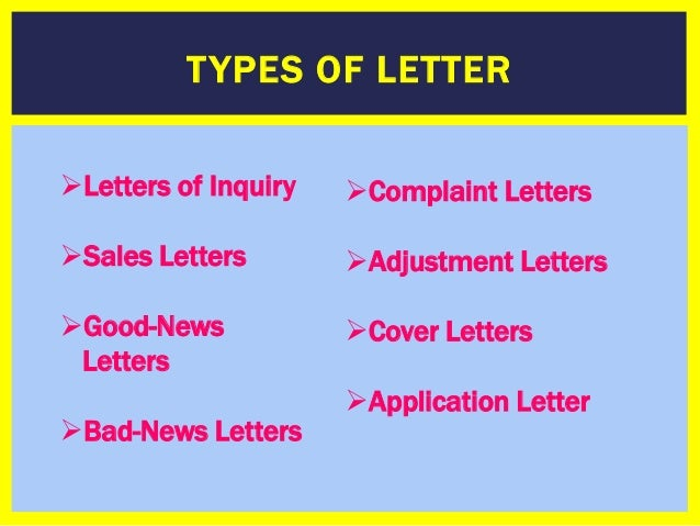 How To Write A Business Formal Letter