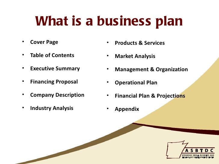 prepare small business plans