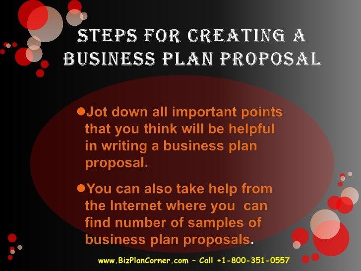 business plan proposal