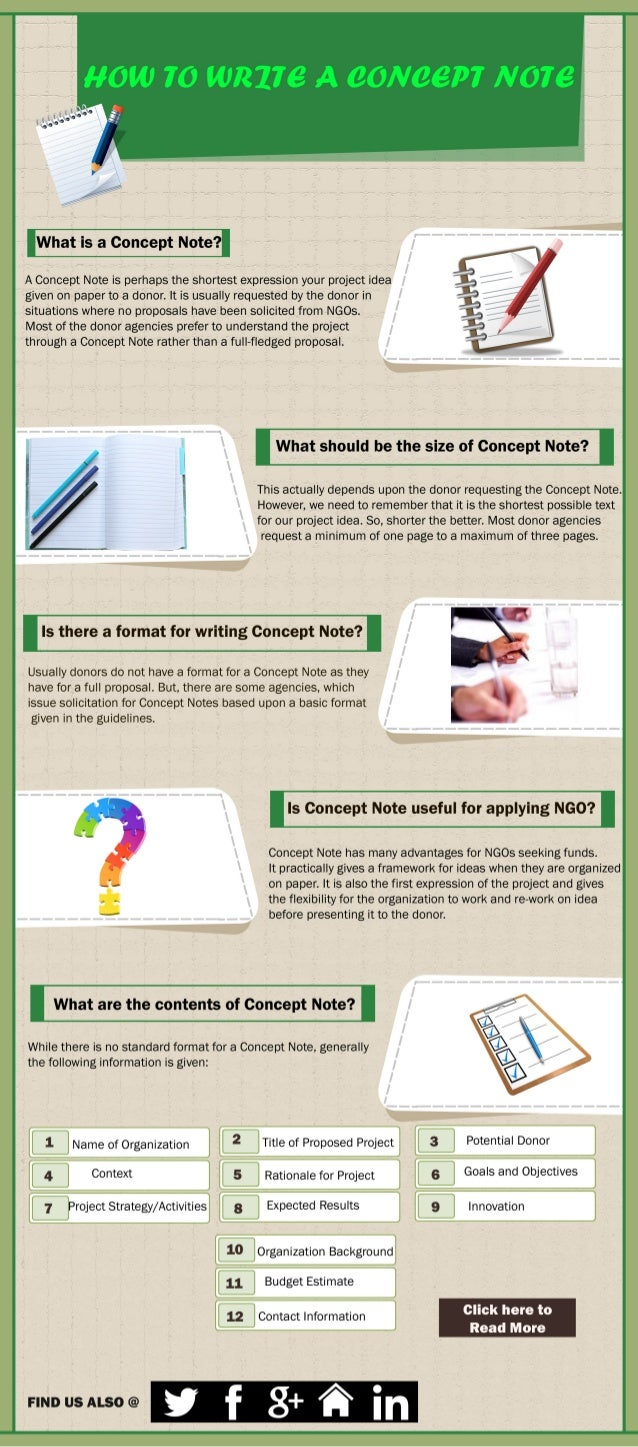 How to Write a Concept Note