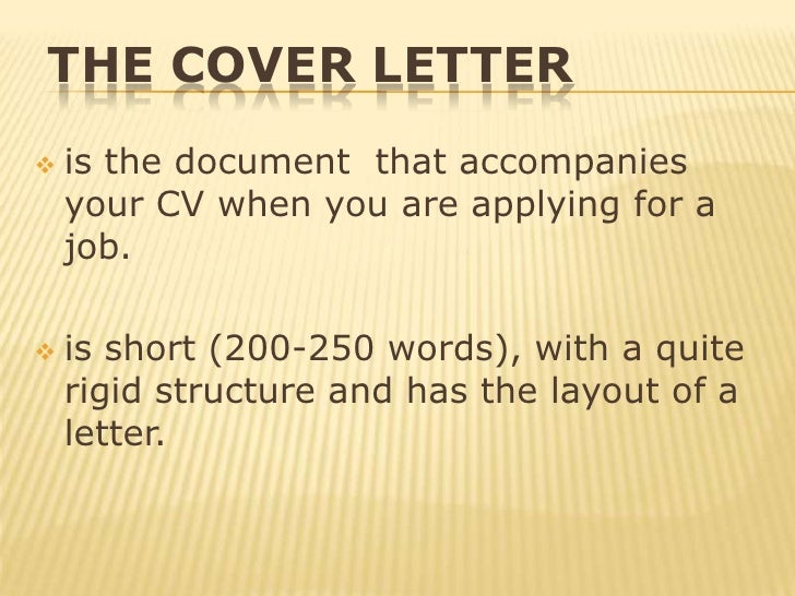 what to write in covering letter