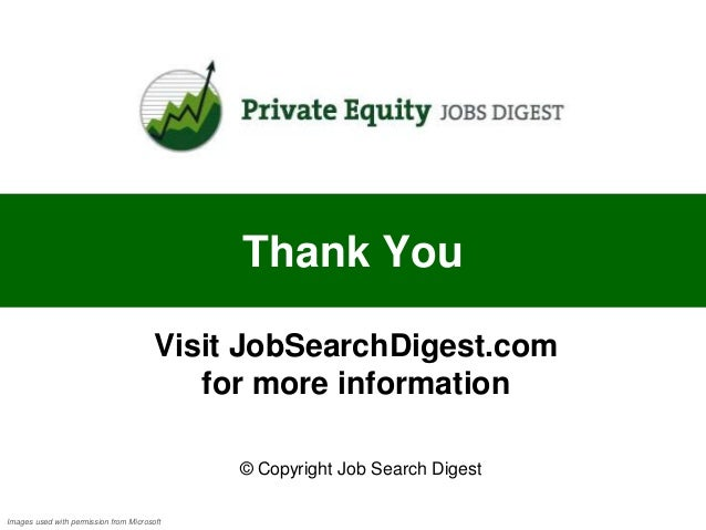 Private Equity Cover Letter sample
