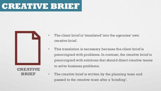 How to Write a Creative Brief