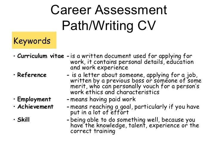 How To Write A CV. 1. Curriculum Vitae; 2.