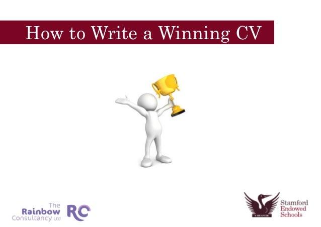 How to Write a Winning CV
