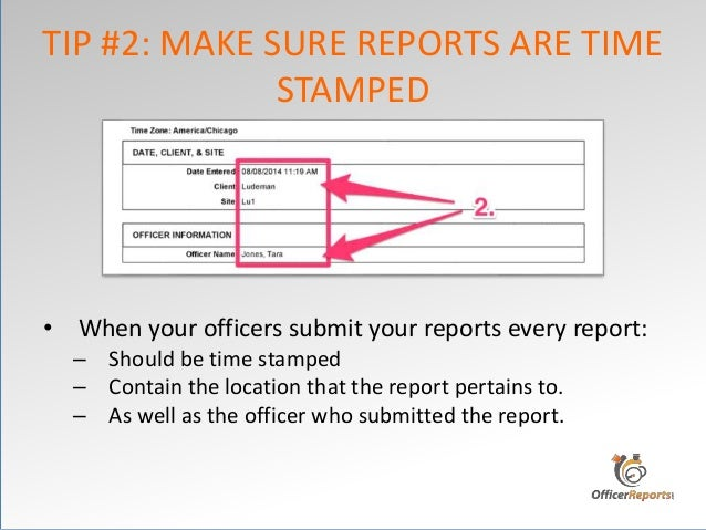 how to make a daily report